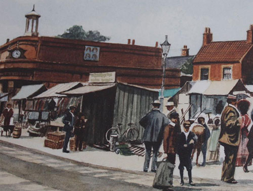 Market Place in 1909