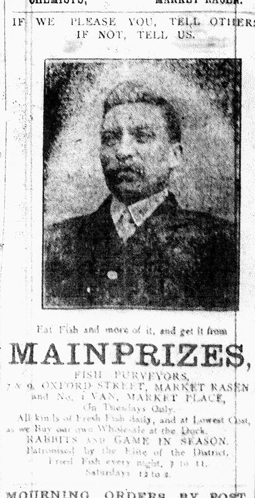 Mainprizes advert